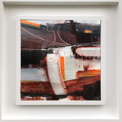Rocky Orange by Tracey Ross