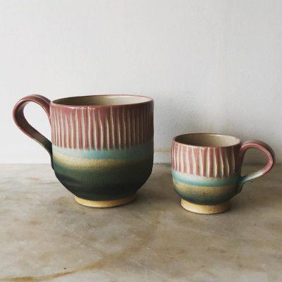 Ceramic ware by Laura Huston