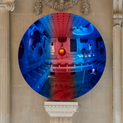 Cobalt Blue to Apple and Magenta mix 2, 2018. Courtesy the artist and Lisson Gallery. © Anish Kapoor. All rights reserved DACS, 2020 Photo: Pete Huggins